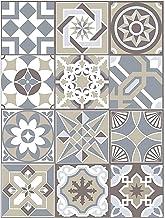 Walplus Home Decoratie Tegel Sticker - Spaanse Kalksteen 15x15 cm - 24 stuks