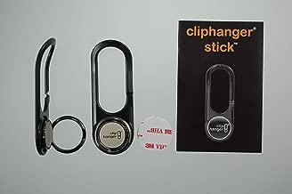 Cliphanger Stick with Kickstand Ring Holder Black