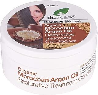 Organic Haircare Doctor Bioactive Haircare Moroccan Argan Oil Restorative Treatment Conditioner 6.8 fl.oz.