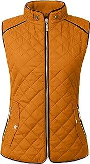 Womens Lightweight Quilted Zip Vest