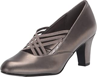 Easy Street Women's Pump, Pewter