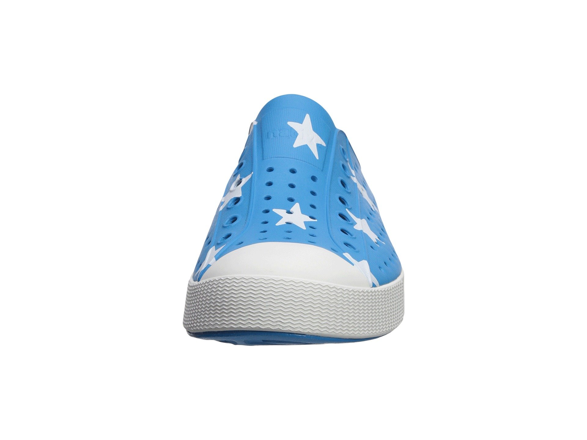 White bone Jefferson Native Blue Wave Star Shoes big WnZ1IqHXT