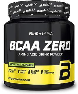 BioTech USA BCAA Zero - 1 pakje - vertakte keten aminozuren - spierregeneratie - vet, koolhydraten, gluten en lactosevrij...