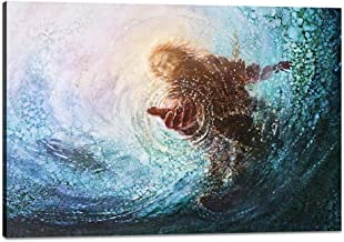 Best images of christ walking on water Reviews