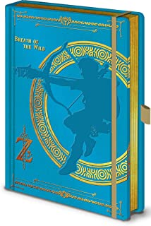 Pyramid America The Legend of Zelda Breath of The Wild Video Game Gaming Journal Notebook 6.25x8