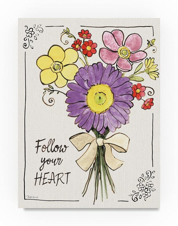 Trademark Fine Art Beth Grove Sunny Bouquets II, 14x19Inch