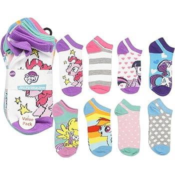 My Little Pony  KNEE HIGH SOCKS 2 PAIRS FOR SHOE SIZE 6 1//2-12 CARTOON SOCKS