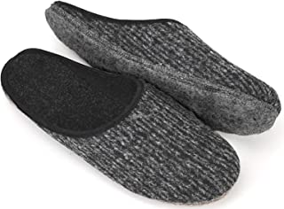 Pantoufles Semelle en Feutre Chaussons Pantoufle Hommes Femmes Unisexe Adulte dans différentes Tailles 38-51 EU