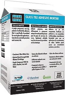 LATICRETE GLASS TILE ADHESIVE MORTAR 25LB WHITE