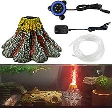 MingDak LED Aquarium Air Bubble Light Fish Tank Air Bubble Stone Disk Round Strip with Colored Light for Aquarium Fish Tank