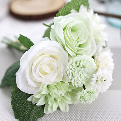Green And White Wedding Bouquets Amazon
