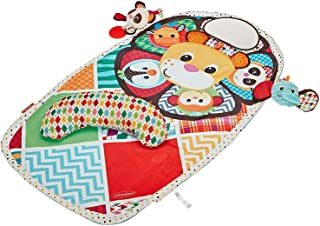Tummy Time Mat - Baby Play Mat - Infant Toys - Tummy Time Pillow - Baby Mirror - Squishy Infant Toys - Activity Mat Babycare Playmats - Washable Baby Mat - Unisex Colors