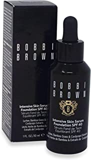 Bobbi Brown Intensive Skin Serum Foundation SPF 40 4.5 Warm Natural for Women, 1 Ounce