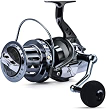 Sougayilang Spinning Reels 10000 Series Surf Fishing Reels,10+1 Stainless BB Ultra Smooth Powerful with CNC Aluminum Spool...