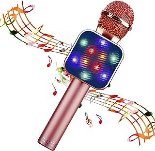 BlueFire Wireless Bluetooth Karaoke Microphone 5 in 1 Handheld Karaoke Microphone Portable Bluetooth Speaker Home KTV Play...
