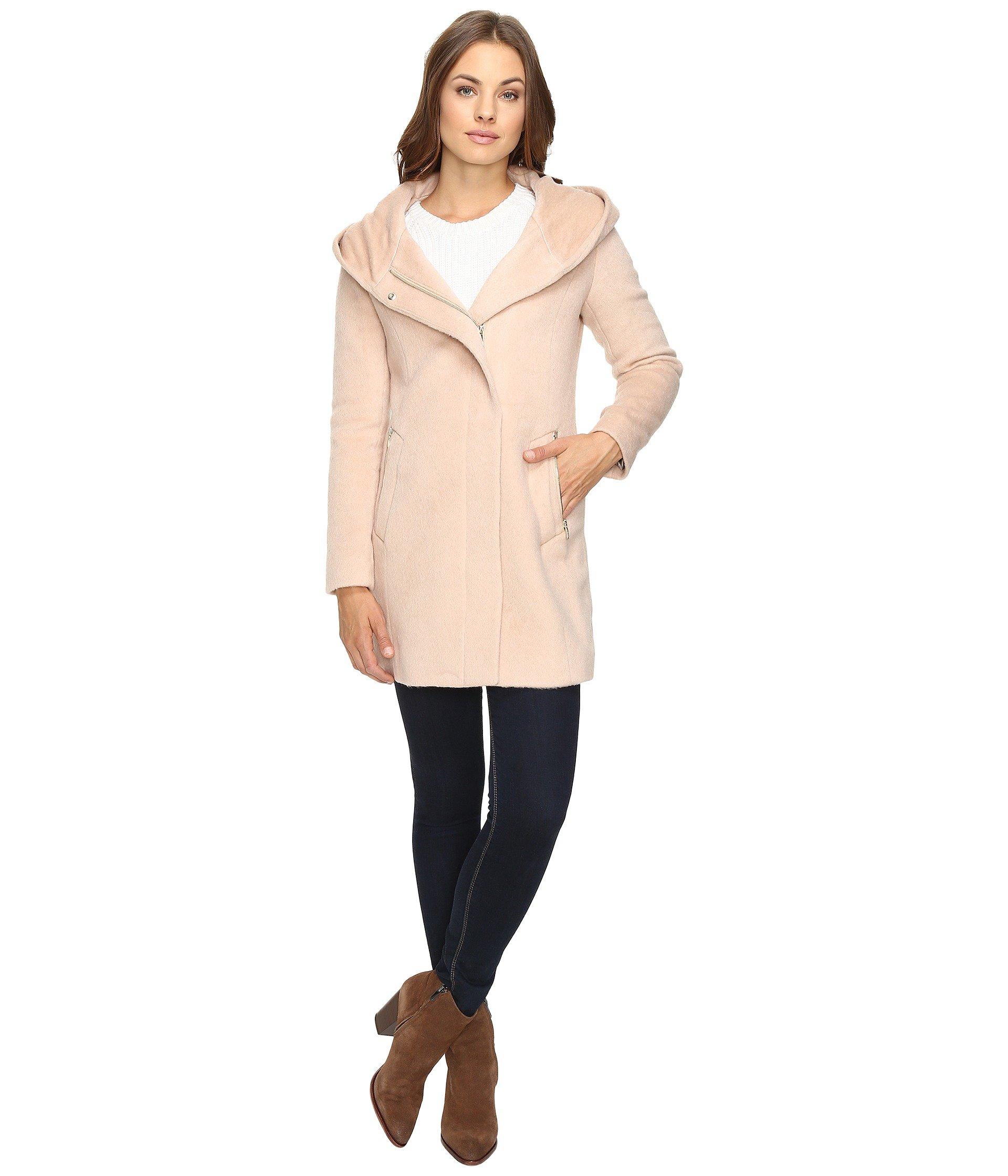 Hooded Italian Alpaca Wool Coat