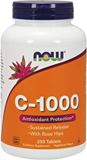 Now Foods Vitamin C-1000 Tablets - NOW1019/1625/1501