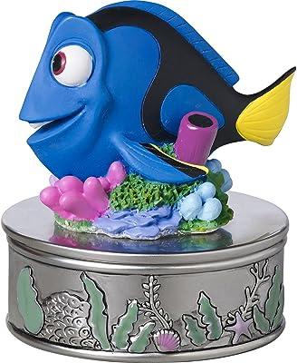 Precious Moments, Disney Showcase Dory Trinket Box, Keep Swimming, Resin/Zinc Alloy, #171705