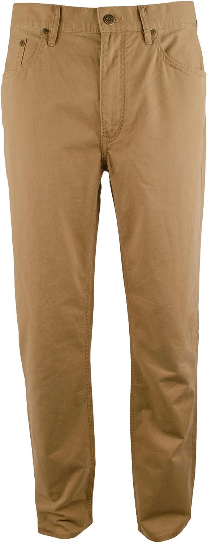 Men's Big and Tall Classic Fit Stretch Twill Pants