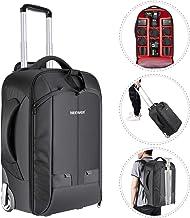 Neewer 2-in-1 Convertible Wheeled Camera Backpack Luggage...