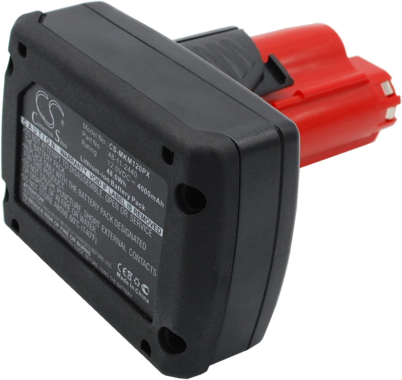 Replacement Battery for M12 XC 4.0 NEW Part FM fits N HZ Today's only C12