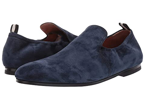 Bally Plank Collapsible Suede Loafer
