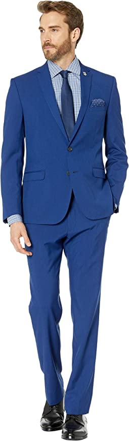 Hot Blue Solid Suit