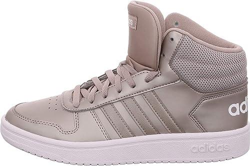 Adidas Hoops 2.0 Mid, Chaussures de Basketball Femme