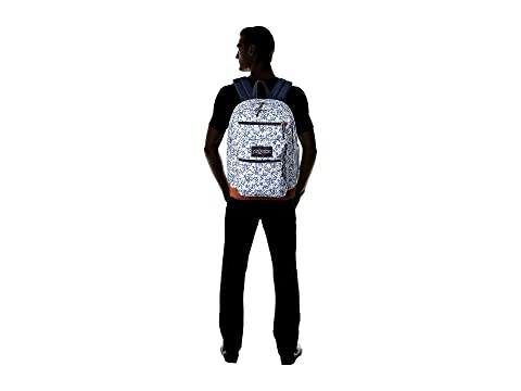 Floral JanSport Cool Field Student White wx8IOTYq