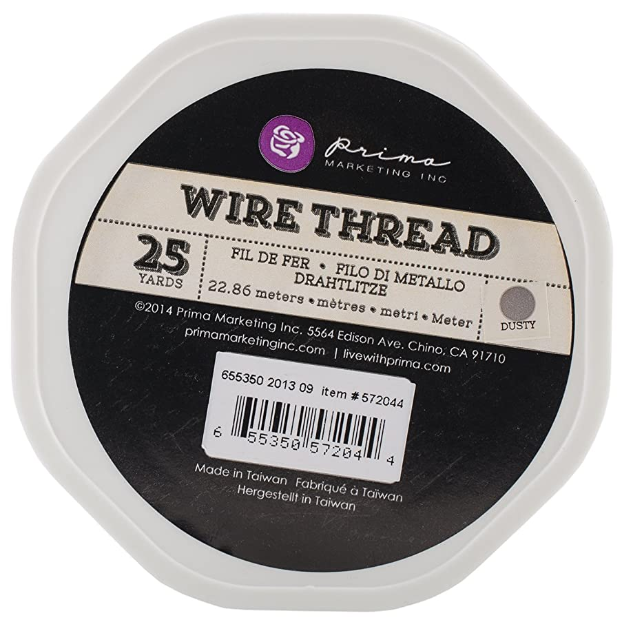 Prima Marketing Wire Thread, 25-Yard, Dusty