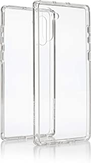 GLOSSY & MATTE Super Slim Protective Cover for Samsung Note 10: Clear Transparent Smartphone Case with Drop, Fall, Impact ...