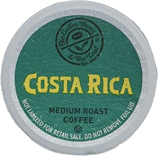 Coffee Bean & Tea Leaf Single Serve Coffee Cups, Costa Rica, Compatible with 2.0 K-Cup Brewers, 64 Count (4/16ct boxes)