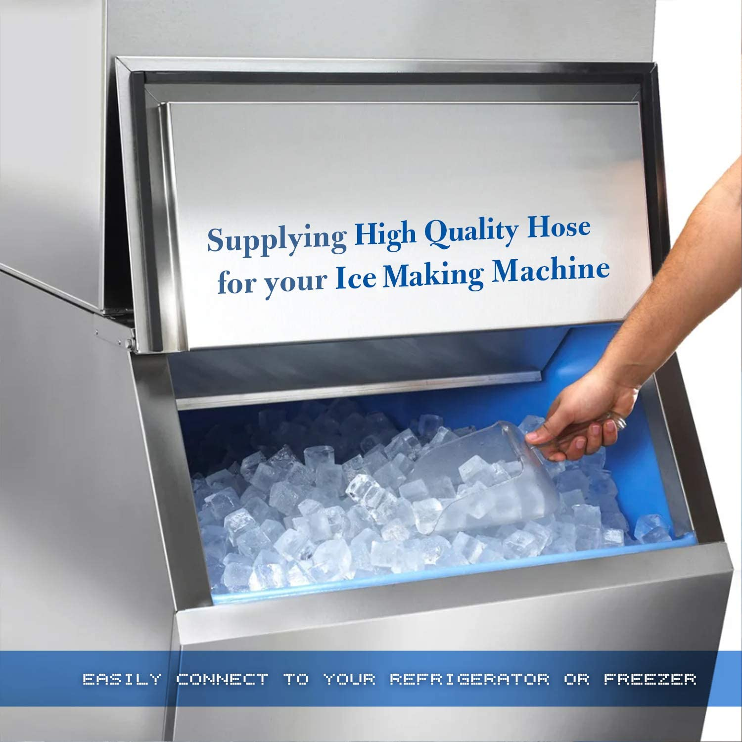 Water supply for ice maker