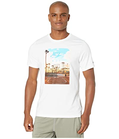 Nike NSW Short Sleeve Tee Court 1 (White) Men