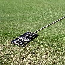 WSVULLD Golfniveau Gazon - met roestvrijstalen pool - Heavy Duty Soil Lawn Leveler Tool for Ward Golf