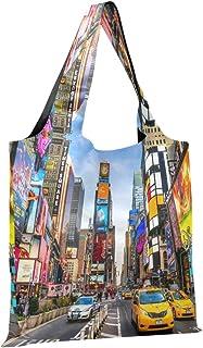 CaTaKu New York Sacs de courses en nylon imperméable et respectueux de l'environnement