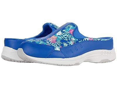 Easy Spirit Traveltime 500 (Blue Floral) Women