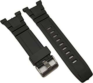 Silicone Black Rubber Replacement for Armitron Watch Band Strap 8254 8309 40/8254 40/8309 & Others