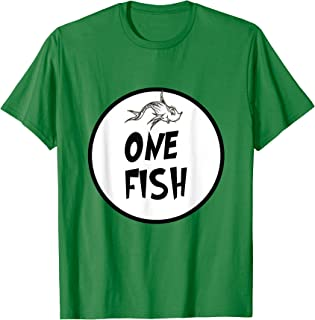 Cute Rhyming One Fish T-shirt | Matching Croup Costume