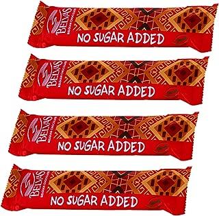 Belvas NSA Belgian Dark Chocolate Bar No Sugar Added - Four Pack