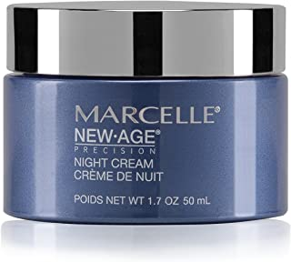 Marcelle NewAge Precision Anti-Wrinkle + Firming Night Cream, Hypoallergenic and Fragrance-Free, 1;7 fl oz