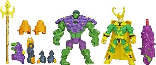 mejor precio Marvel Super Hero Mashers Hulk vs. Loki Loki Loki Mash Pack  cómodamente