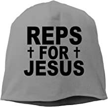 Reps For Jesus Knitted Hat Skull Cap
