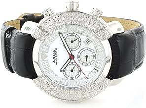 Aqua Master Mens Diamond Watch 0.20ct