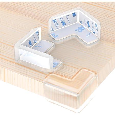 Lot de 2 protections de coin pour enfants avec auto-adh/ésifs Dessins anim/és Pour meubles de table et meubles Pour enfants de b/éb/é