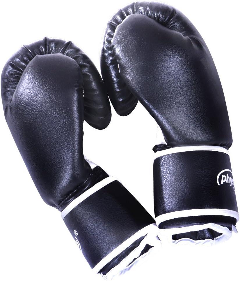 Guantes de Boxeo/| Talla 10//12//14//16 Oz,/Profesionales Unisex Adulto para Entrenamiento en Saco Combate/Kick Boxing Muay Thai MMA UFC Sparring Guantes para Saco Negro//Blanco/| Guantes de Combate