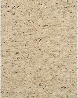 York Wallcoverings Modern Rustic Sueded Cork Wallpaper 8 X 10 Memo Sample Pale Emerald Green/Slate Gray/Tan/Flecks of Gold Glint
