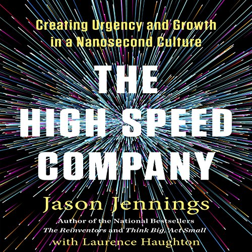 The High-Speed Company audiobook cover art