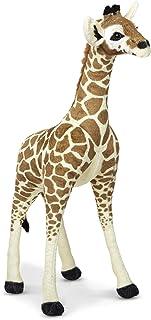 Melissa & Doug Lifelike Plush Standing Baby Giraffe Stuffed Animal – 3 Feet Tall