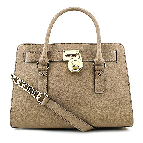 MICHAEL Michael Kors Hamilton East West Satchel in Dark Dune c92c0e577